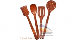 Cooking Spoons for Non-Stick Utensils – Set of 4