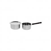 Cookware Pot with Lid and Sauce Pan – Set of 3