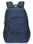 COSMUS Polyester Navy Blue Laptop Backpack