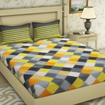 Cotton Bedsheet with 2 Pillow Covers