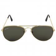 Creature Uv Protected Aviator Unisex Sunglasses