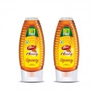 Dabur Honey Squeezy – 400 g (Buy 1 Get 1 Free)