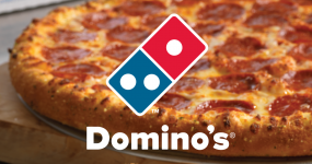 Domino's  : 50% off upto Rs. 100