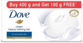 Dove Cream Beauty Bathing Bars  (4 x 100 g)