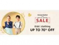 Kids Clothing Minimum 70% off + Extra 20% Off – from 175