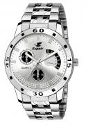 Espoir Analog Silver Dial Men's Watch
