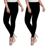 ESSEMM Women's Cotton Leggings Combo Offer Pack of 2