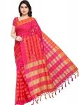 EthnicJunction Women's Cotton Silk Saree