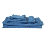 Eurospa Set of 6 Cotton Bath + Hand + Face Towel Set