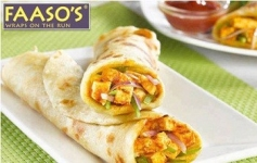 Faasos : Get 60% Off Upto Rs.120 on minimum order of Rs.199
