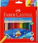 Faber-Castell Colour Pencils  (Set of 24)