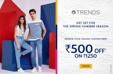 Ajio Loot : Get Flat Rs.500 OFF On Jeans (Min. Cart Value Rs.1250).
