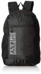 Flying Machine Polyester 24 inches Black Grey Travel Duffle