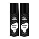 Fresh Essential Shave Foam (Pack of 2)