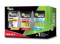 Garnier Men Face Wash Combo (Pack of 3)