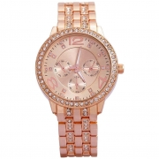 Geneva Platinum Analog Women's Watch