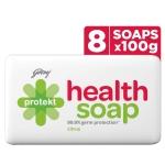 Godrej Protekt Health Bath Soap, Pack of 8