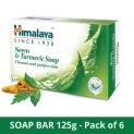 Himalaya Herbals Neem And Turmeric Soap (Pack Of 6)