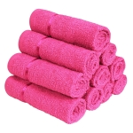 Home Pack of 10 Sensational Cotton Small Face Towels