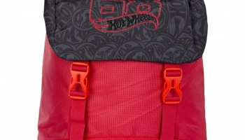 Hot Wheels Red Casual Backpack