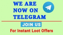 Join the biggest telegram loot channel