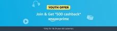 (Maha offer) 1 year Amazon prime at 299