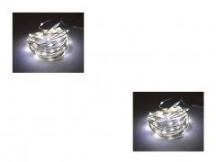 LED Copper Wire String Light Battery Operated – Set of 2
