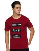 LEE COPPER Men's Printed Regular Fit T-Shirt