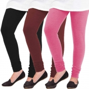 Loot Fast Woolen Leggings for Women, Combo Pack of 3 – Free Size at only 547 MRP 1797