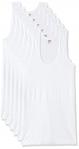 LUX VENUS Men's Cotton Vest (Pack of 6)