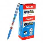 Luxor Liquiwrite Ball Pen Blue (20's Box)