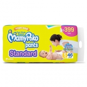 Mamy Poko Pants Standard Diapers, Small (Pack of 46)