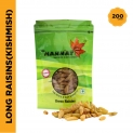 Mannat Green Raisins Pouch,200g