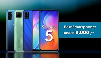 Best 4G Smart Phones Under Rs.8000 in India