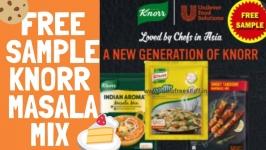 Knorr : FREE MASALA SAMPLES