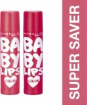 Maybelline Baby Lips Cherry Kiss and Berry Crush  (Pack of 2)