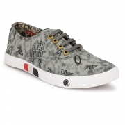 Men's Casual Sneakers (Grey)