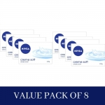 NIVEA Creme Soft Soap (Pack of 4) x 2