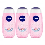 Nivea Waterlily and Oil Shower Gel (Pack of 3)