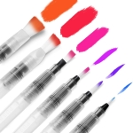 Ohuhu Water Coloring Brush Pens, Set of 6