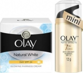 Olay Natural white day cream (2 Items)