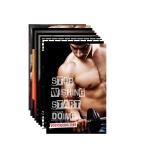 PAPER PLANE DESIGN Big Size Gym Posters Set of 10