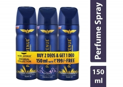 Park Avenue Body Deo (Pack of 2) with Free Body Deo