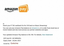 loot deal : Get 100 Amazon Pay Balance for Free for amazon music app