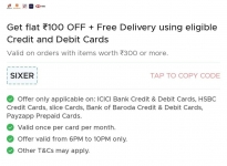 ZOMATO : Flat 100₹ off + Free Delivery on Zomato Orders above 300₹