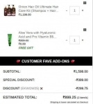 WoW Skin Science Onion Hair Oil Ultimate Hair Care Kit at 899