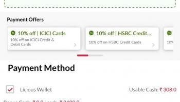 Licious Loot Deal – 100% Cashback [Licious cash+]