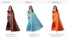 AJIO Loot For saree : Sarees starting Rs.275