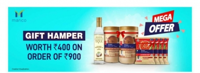 Saffola New coupon offer : FLAT 200 Off + 400 Rs Gift Hamper on Orders Above 1100 Rs