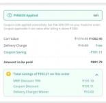 Pharmeasy : Flat 30% off on min cart of  Rs.1000 (all users)